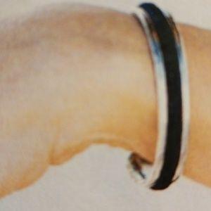 Silver Hair Tie bracelt